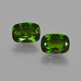 thumb image of 1.9ct Cushion-Cut Green Chrome Diopside (ID: 417725)
