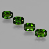thumb image of 3.7ct Cushion-Cut Green Chrome Diopside (ID: 417845)