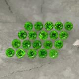 thumb image of 1.4ct Round Facet Green Chrome Diopside (ID: 468155)
