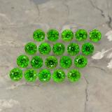 thumb image of 1.4ct Round Facet Green Chrome Diopside (ID: 468160)