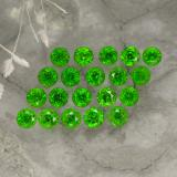 thumb image of 1.4ct Round Facet Green Chrome Diopside (ID: 468163)