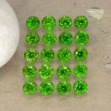 thumb image of 1.4ct Round Facet Green Chrome Diopside (ID: 468237)