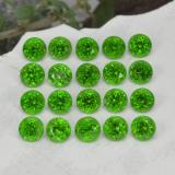 thumb image of 1.4ct Round Facet Green Chrome Diopside (ID: 468241)