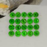 thumb image of 1.4ct Round Facet Green Chrome Diopside (ID: 468242)