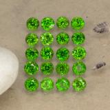 thumb image of 1.4ct Round Facet Green Chrome Diopside (ID: 468244)