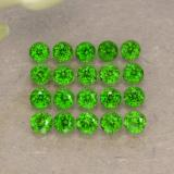 thumb image of 1.4ct Round Facet Green Chrome Diopside (ID: 468246)