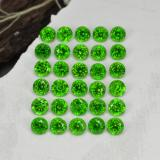 thumb image of 2.1ct Round Facet Green Chrome Diopside (ID: 468333)