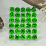 thumb image of 2.1ct Round Facet Green Chrome Diopside (ID: 468334)