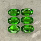 thumb image of 1.6ct Oval Facet Green Chrome Diopside (ID: 469103)