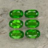 thumb image of 0.3ct Oval Facet Green Chrome Diopside (ID: 469105)