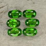 thumb image of 1.6ct Oval Facet Green Chrome Diopside (ID: 469108)