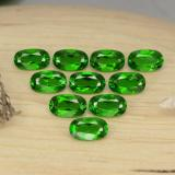 thumb image of 0.3ct Oval Facet Green Chrome Diopside (ID: 469151)