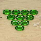 thumb image of 2.7ct Oval Facet Green Chrome Diopside (ID: 469157)