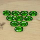 thumb image of 2.6ct Oval Facet Green Chrome Diopside (ID: 469158)