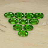 thumb image of 0.3ct Oval Facet Green Chrome Diopside (ID: 469161)