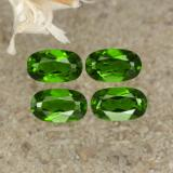 thumb image of 1ct Oval Facet Green Chrome Diopside (ID: 469163)