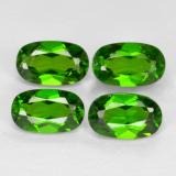 thumb image of 1.1ct Oval Facet Green Chrome Diopside (ID: 469166)