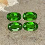 thumb image of 1.1ct Oval Facet Green Chrome Diopside (ID: 469168)