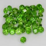 thumb image of 1.9ct Round Facet Green Chrome Diopside (ID: 469519)