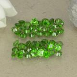 thumb image of 1.9ct Round Facet Green Chrome Diopside (ID: 469520)