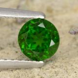thumb image of 0.7ct Round Facet Green Chrome Diopside (ID: 476856)