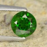 thumb image of 0.7ct Round Facet Green Chrome Diopside (ID: 476858)