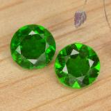 thumb image of 1ct Round Facet Green Chrome Diopside (ID: 477069)