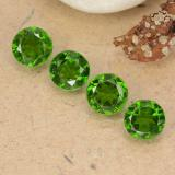 thumb image of 2.1ct Round Facet Green Chrome Diopside (ID: 488963)