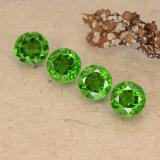 thumb image of 2.1ct Round Facet Green Chrome Diopside (ID: 488980)