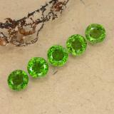 0.46 ct Sfaccettatura rotonda Medium-Dark Green Cromo diopside Gem 4.75 mm  (Photo B)