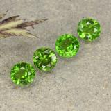 thumb image of 0.8ct Round Facet Green Chrome Diopside (ID: 490746)