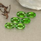thumb image of 0.3ct Oval Facet Green Chrome Diopside (ID: 493731)