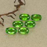 thumb image of 1.7ct Oval Facet Green Chrome Diopside (ID: 493746)