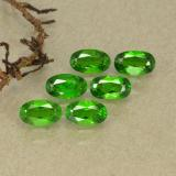 thumb image of 1.5ct Oval Facet Green Chrome Diopside (ID: 493750)