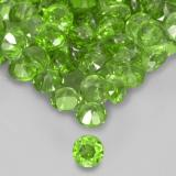 thumb image of 0ct Round Facet Green Chrome Diopside (ID: 508368)