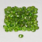 0.03 ct Sfaccettatura rotonda Seaweed Green Cromo diopside Gem 1.74 mm  (Photo C)