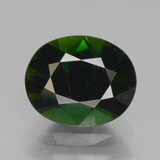 thumb image of 1.3ct Oval Facet Green Chrome Tourmaline (ID: 377272)