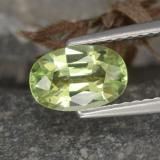 thumb image of 1.2ct Oval Facet Golden Green Chrysoberyl (ID: 254816)