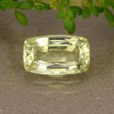 thumb image of 1.3ct Cushion-Cut Greenish Golden Chrysoberyl (ID: 353906)