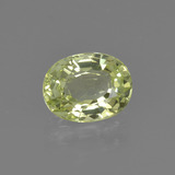 thumb image of 1.3ct Oval Facet Golden Green Chrysoberyl (ID: 366301)