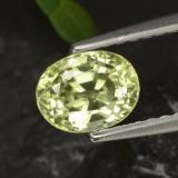 thumb image of 1.2ct Oval Facet Golden Green Chrysoberyl (ID: 366304)
