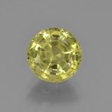 thumb image of 1.8ct Round Facet Golden Green Chrysoberyl (ID: 381394)