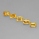 thumb image of 5.2ct Octagon Step Cut Yellow Golden Citrine (ID: 275137)