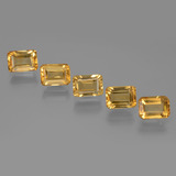 thumb image of 5.6ct Octagon Facet Yellow Golden Citrine (ID: 275158)