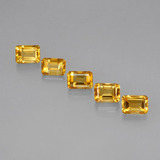 thumb image of 5.8ct Octagon Step Cut Yellow Golden Citrine (ID: 275163)
