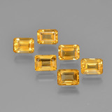 thumb image of 6.9ct Octagon Step Cut Yellow Golden Citrine (ID: 275664)