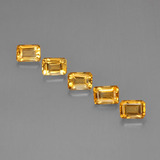 thumb image of 4.8ct Octagon Step Cut Yellow Golden Citrine (ID: 275689)