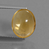 thumb image of 2.7ct Oval Cabochon Yellow Golden Citrine (ID: 278625)
