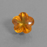 thumb image of 1.4ct Flower-Cut Yellow Orange Citrine (ID: 290400)