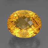 thumb image of 43.9ct Oval Checkerboard Yellow Golden Citrine (ID: 327919)